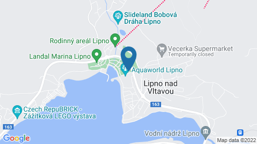 2 Bedroom Accommodation in Lipno nad Vltavou Map