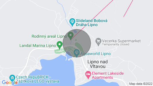 Holiday Apartment With Wifi and Lawn Map