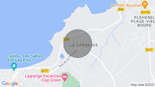 Vacation Home La Carquois in Frehel/cap Frehel - 4 Persons, 2 Bedrooms Map