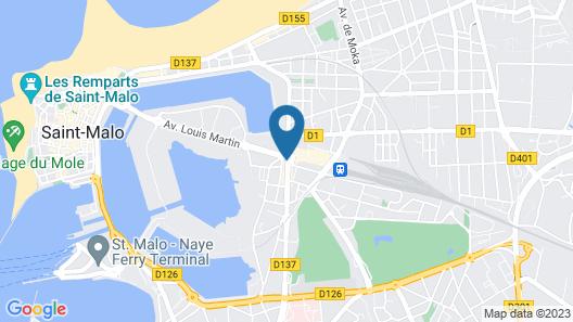 Citotel Aux Voyageurs - Gare Map