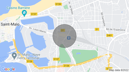 Apartment Quai Malo in Saint Malo - 4 Persons, 1 Bedrooms Map