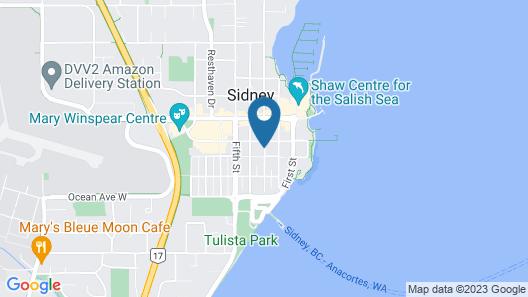 Beacon Inn at Sidney  Map