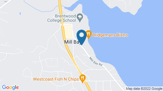 Mill Bay Moments Ocean-front Superior Accommodation for Discerning Guests - Private Entry 1-bedroom Ocean-front Suite With Full Kitchen Map