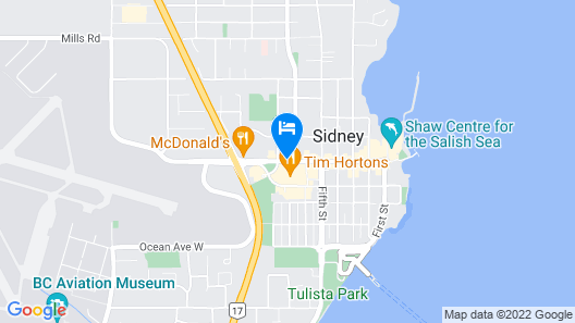 Best Western Plus Emerald Isle Hotel Map