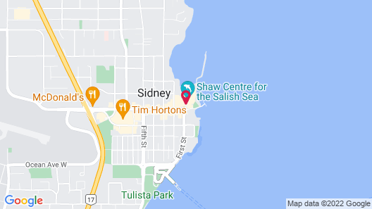 The Sidney Pier Hotel & Spa Map