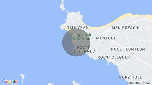 Villa des Courlis, 10 People, Beach at Your Feet Map