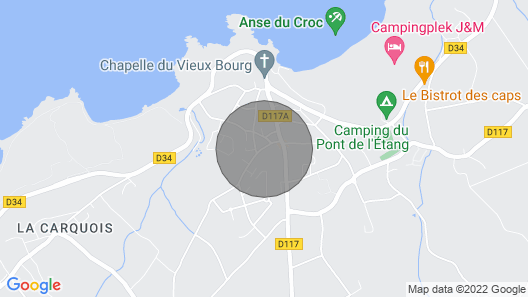 Pleasant and Bright House in Fréhel, 10 min Walk to the Beach Map