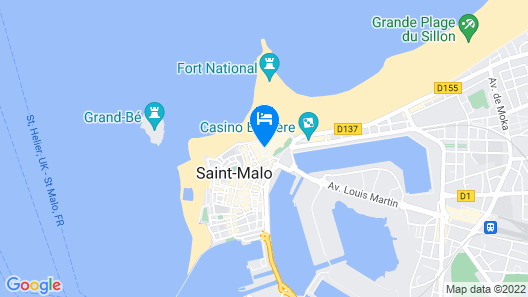 Hotel France Chateaubriand Map