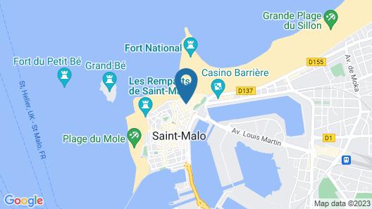 Hôtel de l'Univers Map