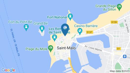 Hôtel de la Cité Map