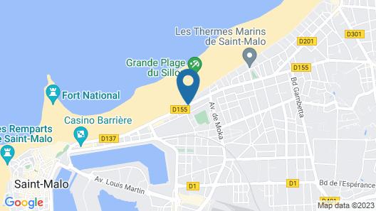 Hôtel Beaufort Map