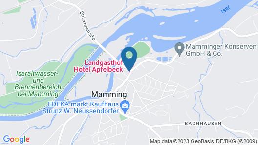 Landgasthof Apfelbeck Map