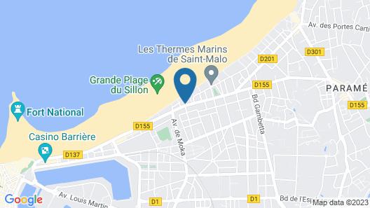 Résidence la Hoguette Map