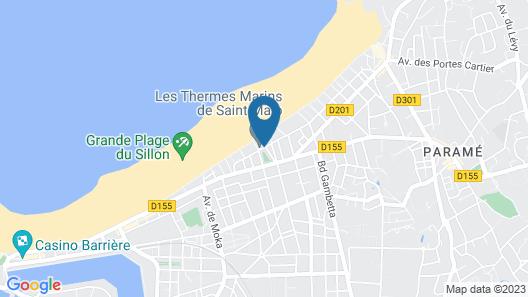 Grand Hôtel des Thermes Map