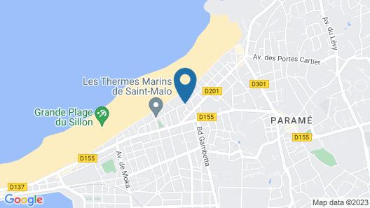 Hôtel Les Charmettes Map