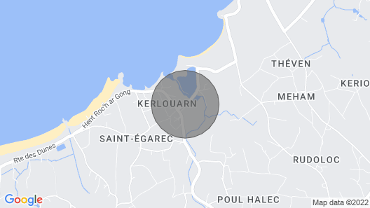 5 Bedroom Accommodation in Kerlouan Map