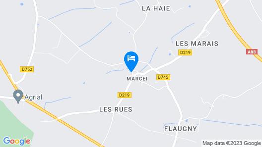 Le Manoir de la Baronnie Map