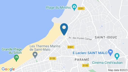 Hotel Alpha Océan Map