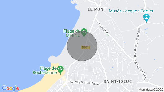 Residence Reine Marine, St. Malo Map