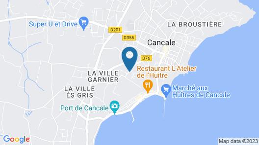 Résidence Lagrange Vacances Les Hauts de la Houle Map