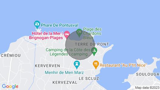 Vacation Home Les Chardons Bleus 3 in Brignogan-plage - 10 Persons, 5 Bedrooms Map