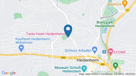 Taste Hotel Heidenheim Map