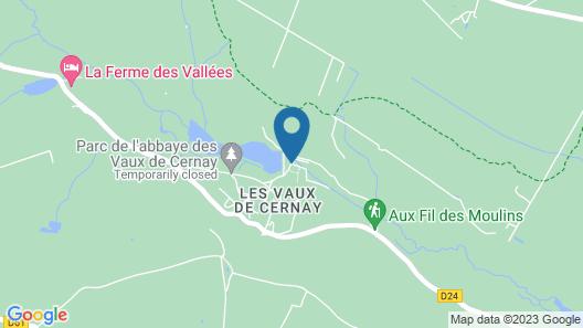 Abbaye Des Vaux De Cernay Map