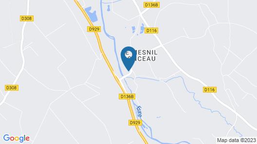 Domaine du Mesnil Ponceau & Spa Centre Des Arts Map