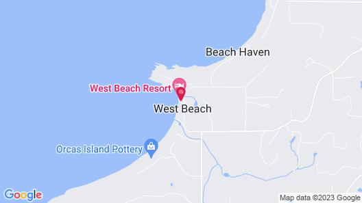 West Beach Resort Map