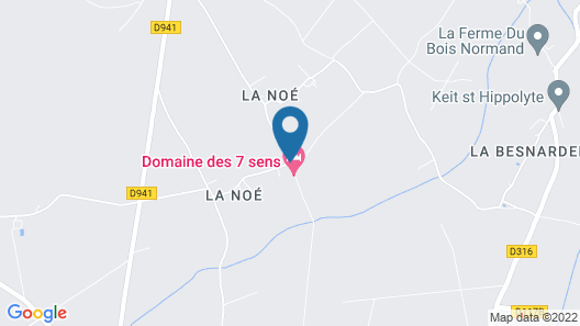 Le Domaine de Malabry - Chalets Map