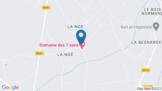 Le Domaine de Malabry  Map