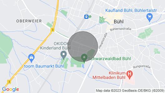 Boho apartment central Map