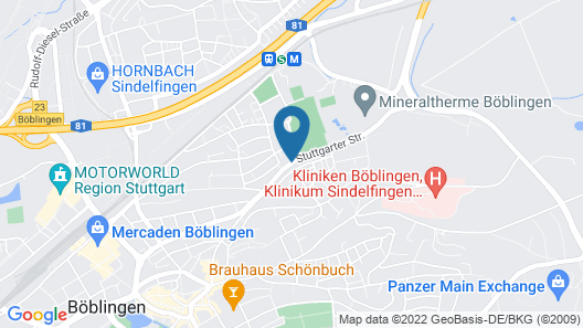 Business Hotel Map
