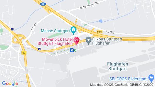 Movenpick Hotel Stuttgart Airport Map