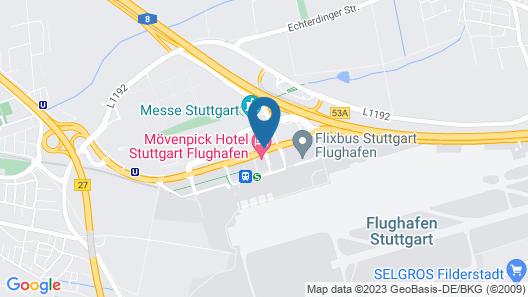 Wyndham Stuttgart Airport Messe Map