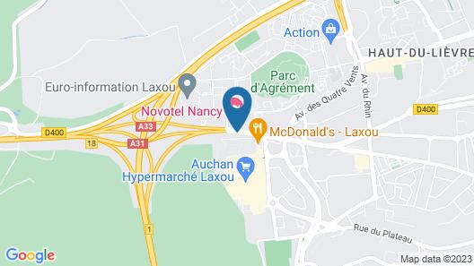 Lorraine Hôtel Map