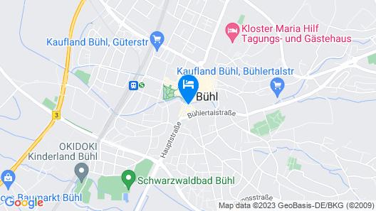 Hotel & Restaurant Badischer Hof Map