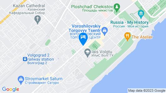 Yuzhniy Hotel Map