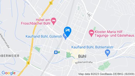 Best Business Bühl - Boardinghouse Map