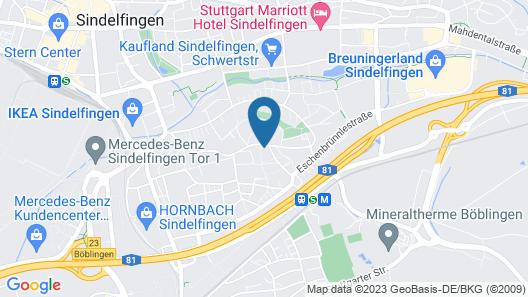 Hotel Berlin Map