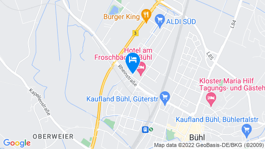 ADORO Aparthotel Map