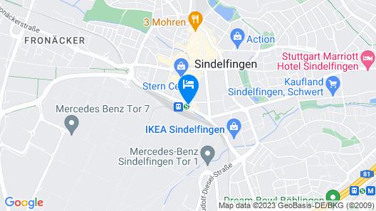 Erikson Hotel Map