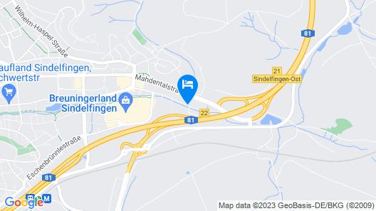 Mercure Hotel Stuttgart Sindelfingen an der Messe Map