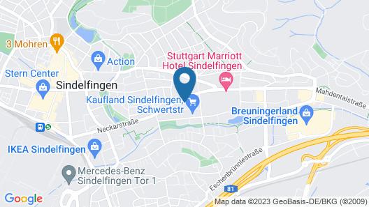 Holiday Inn Express Sindelfingen, an IHG Hotel Map