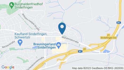 Mercure Hotel Bristol Stuttgart Sindelfingen Map