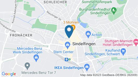 Hotel am Wettbach Map