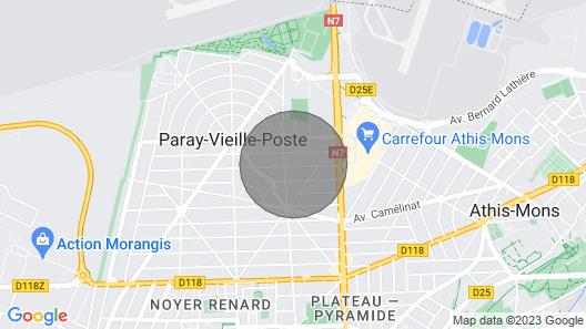 Maison Proche de Paris-orly Map