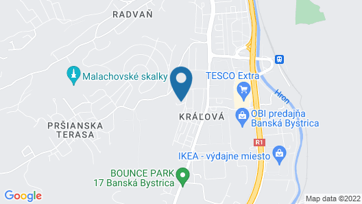Apartmán Amália  Map