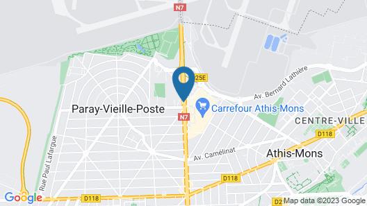 Howard Hôtel Paris Orly Aeroport Map