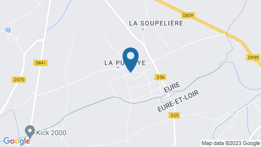 Studio Château de la Puisaye Map